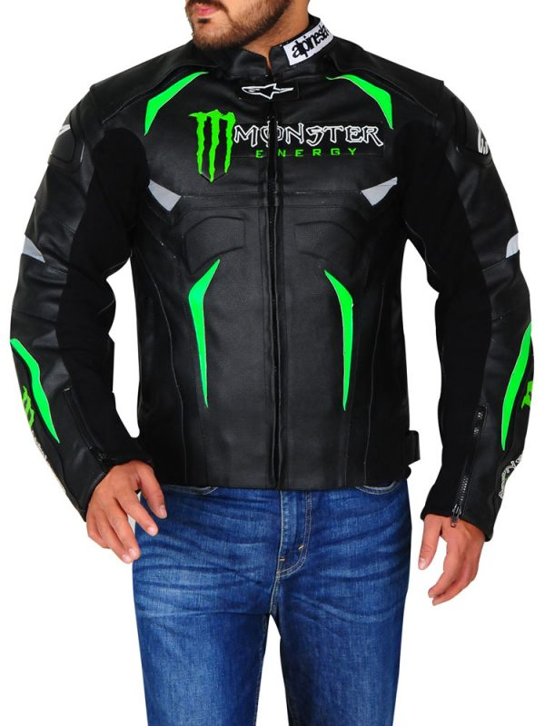 Hellhound Alpinestars Monster Energy Biker Jacket