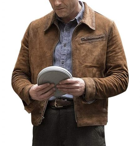 High Castle Jason O'mara Suede Leather Jacket