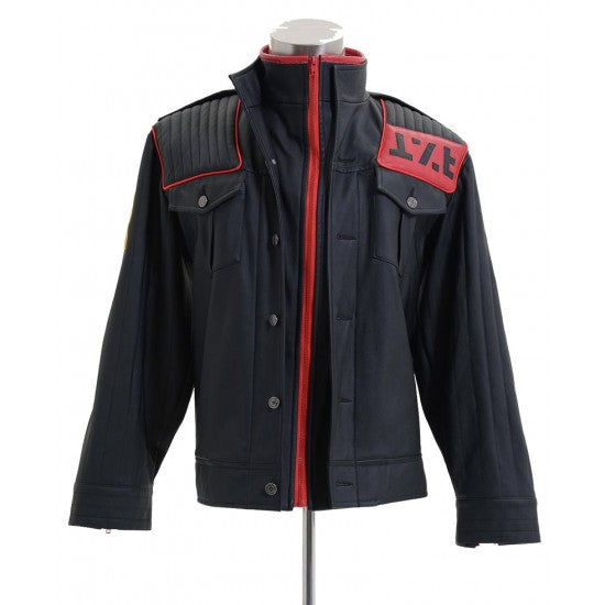 Jet Star MCR Danger Days Leather Jacket