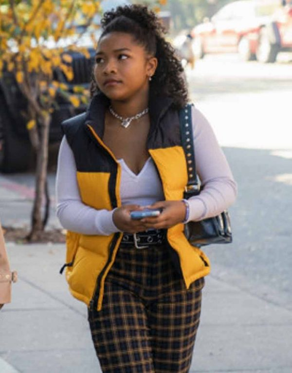 Laya DeLeon Hayes The Equalizer 2021 Vest