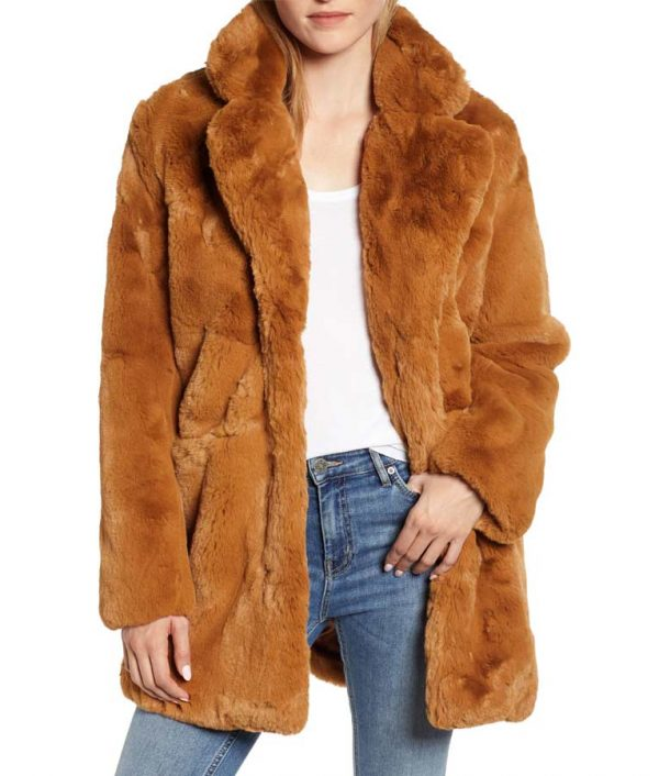 Melody Chu The Equalizer 2021 Fur Coat