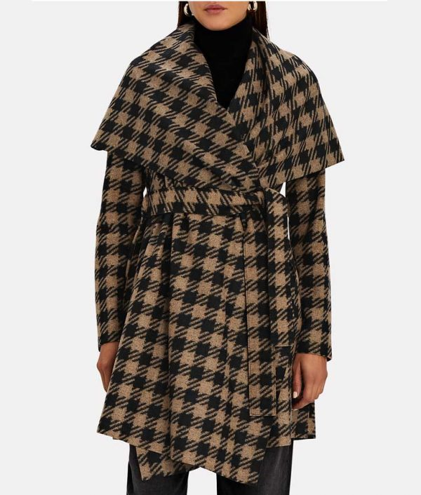 Melody Chu The Equalizer 2021 Houndstooth Coat