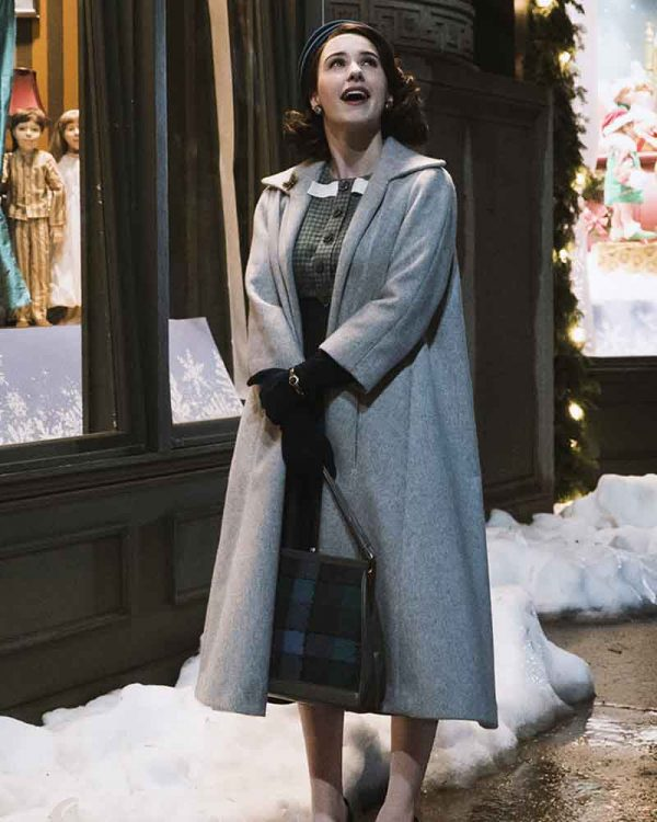 Miriam Maisel The Marvelous Mrs Maisel Grey Coat