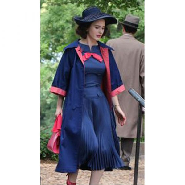Miriam Maisel The Marvelous Mrs. Maisel Blue Coat
