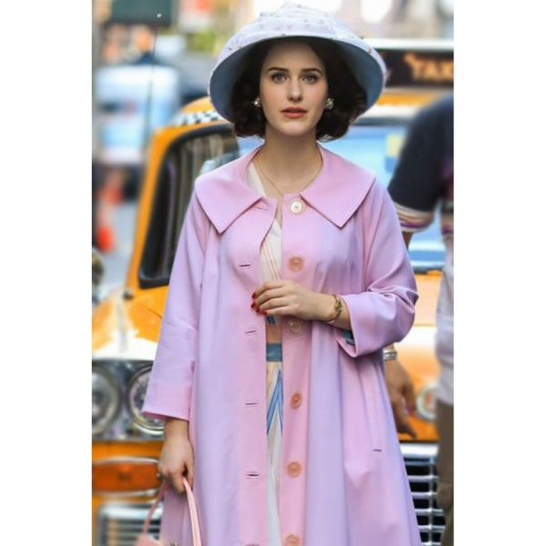 Miriam Maisel The Marvelous Mrs. Maisel Light Pink Coat