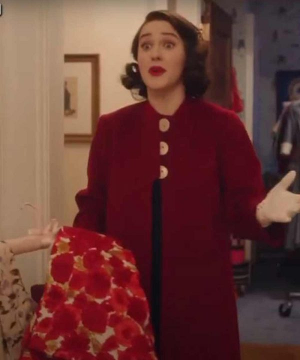 Miriam Maisel The Marvelous Mrs. Maisel S04 Red Coat
