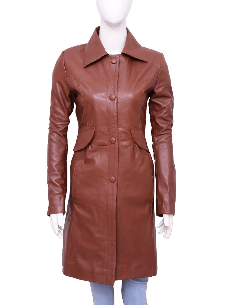 Noble Brown Doctor Who Donna Coat