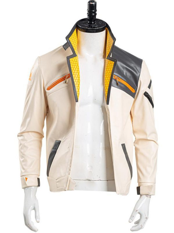 PHOENIX VALORANT LEATHER JACKET