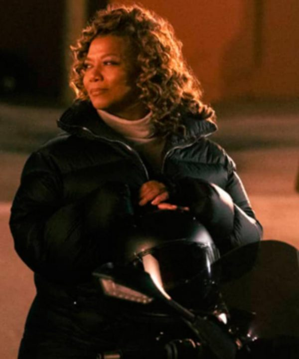 Queen Latifah The Equalizer 2021 Puffer Jacket