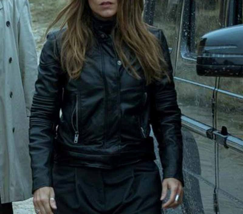 Raquel Murillo Money Heist Leather Jacket