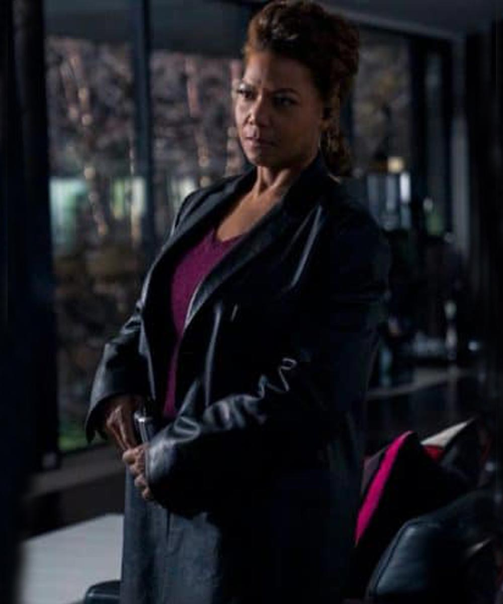Robyn McCall The Equalizer 2021 Leather Coat