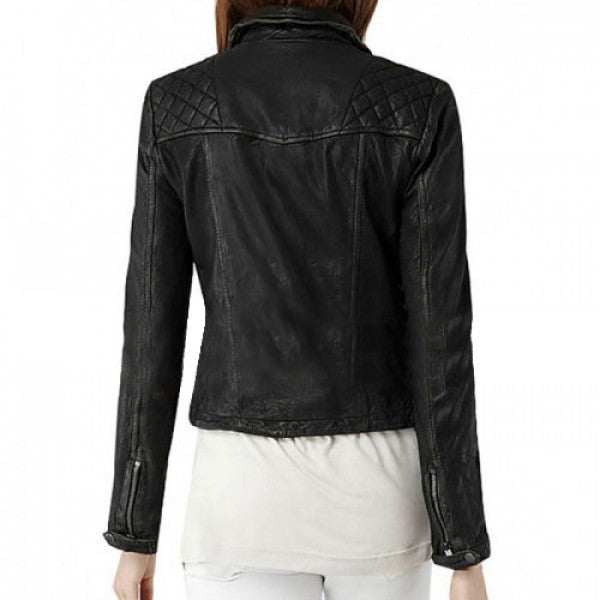 SKYE AGENTS OF SHIELD LEATHER JACKET