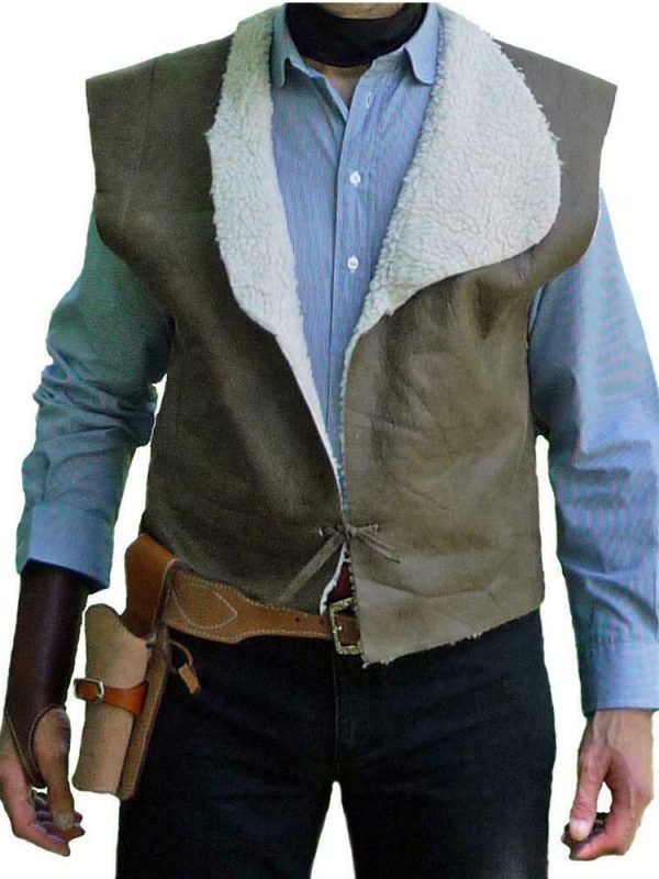 SPAGHETTI WESTERN CLINT EASTWOOD LEATHER VEST