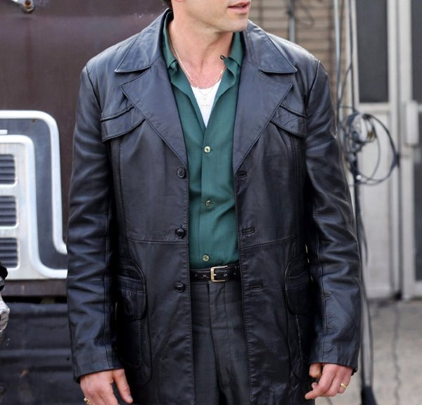 The Many Saints of Newark Jon Bernthal Leather Coat