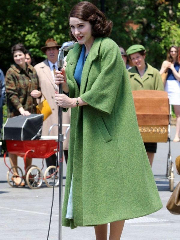 The Marvelous Mrs. Maisel Miriam Maisel Green Coat