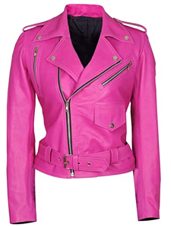 Valentine Special Ladies Short Motorcycle Jacket