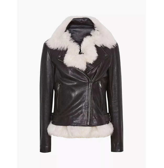 Women's Gilet Shearling Jacket