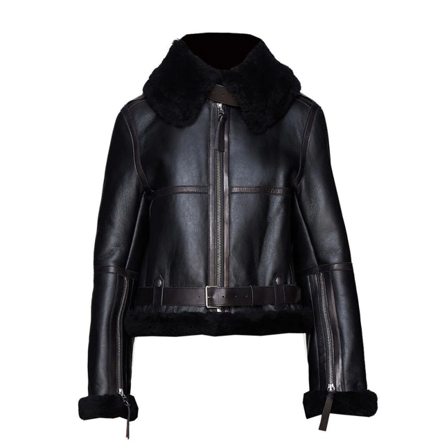Women's Shearling Fur Jacket