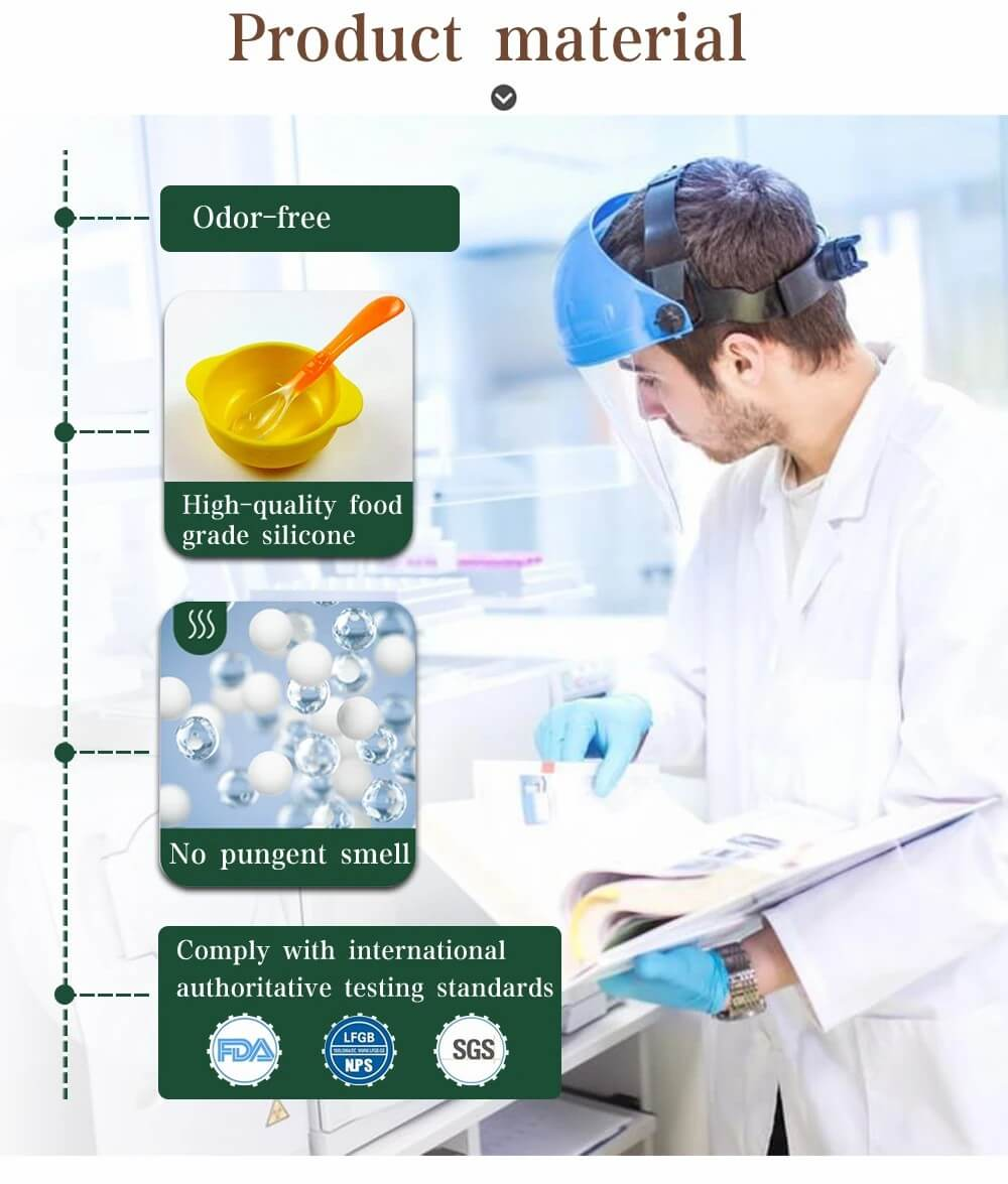 high quality food grade medical silicone
