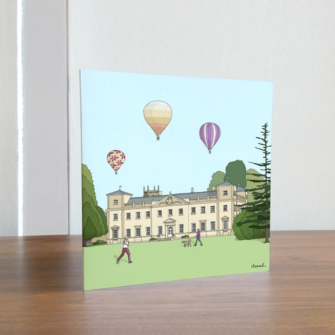 Swindon Lydiard House card