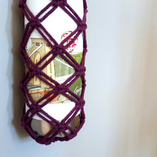 Load image into Gallery viewer, Macrame Bottle Carrier