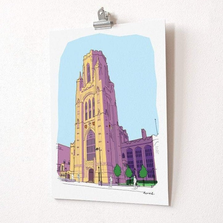 Bristol Wills Building Print