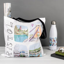 Load image into Gallery viewer, Bristol Tote Bag - Sketches Eight