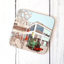 Load image into Gallery viewer, M Shed Museum coaster