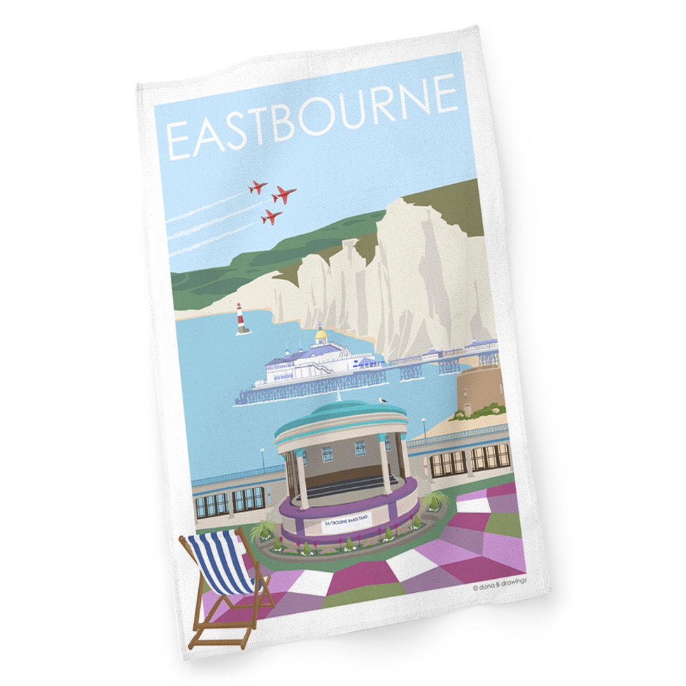 Eastbourne Cotton Tea Towel