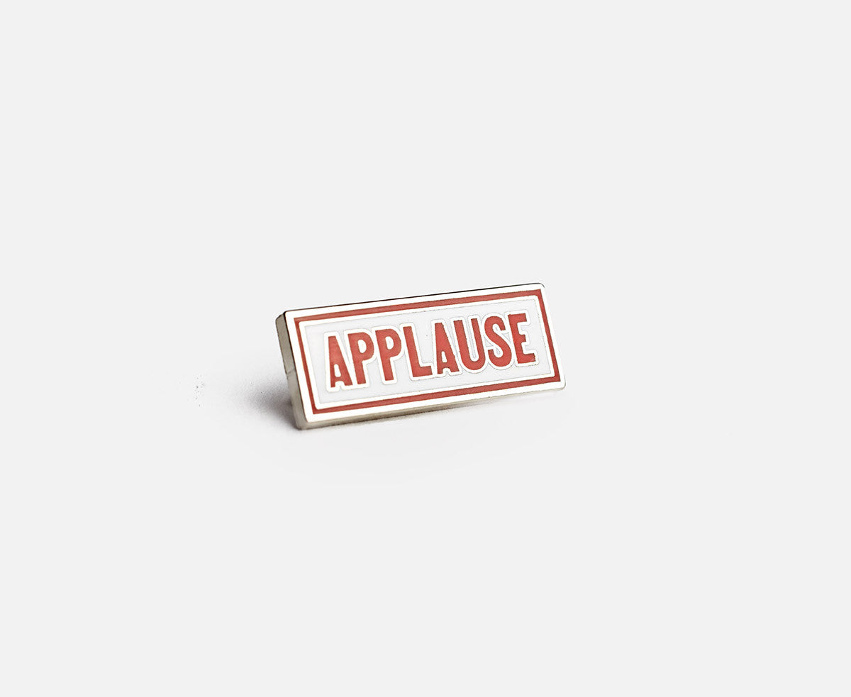 Prize Pins - Applause right
