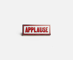 Prize Pins - Applause front
