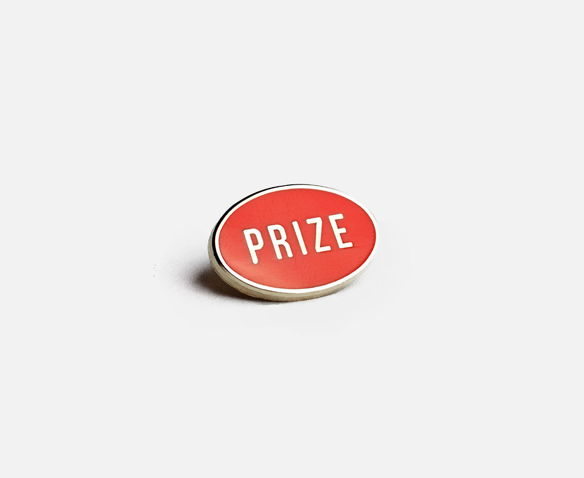 Prize Pins - Logo Red right