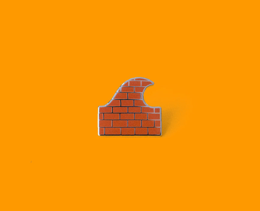Brick Wave - Orange
