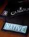"Native American T-Shirt | ""Native"" Block T-Shirt - Turquoise Green"