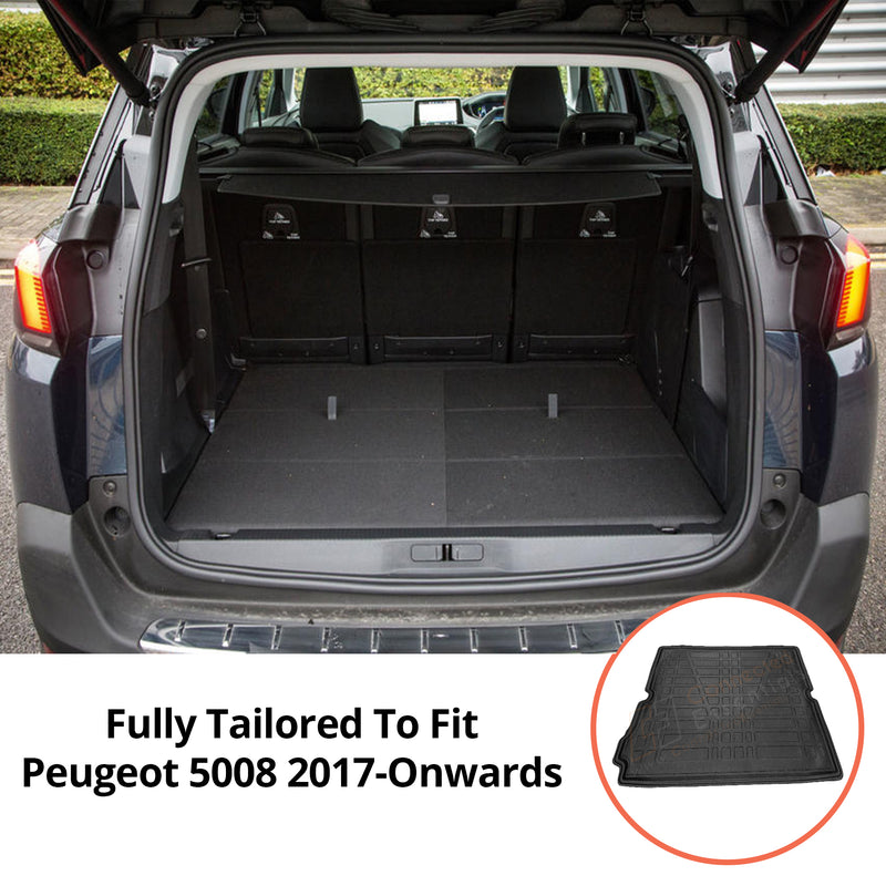 Peugeot 5008 Moulded Boot Liner 2017-Onwards
