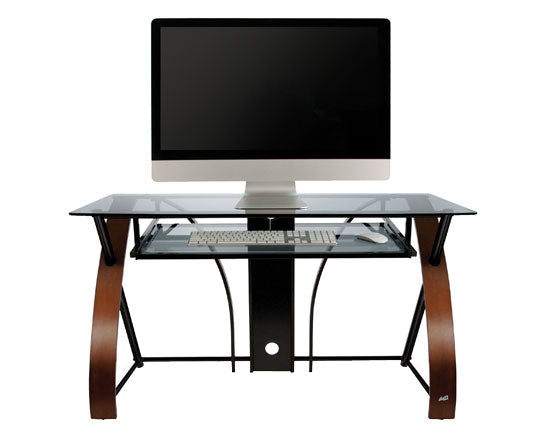 Luxury Curved Desk, Black - CD8841