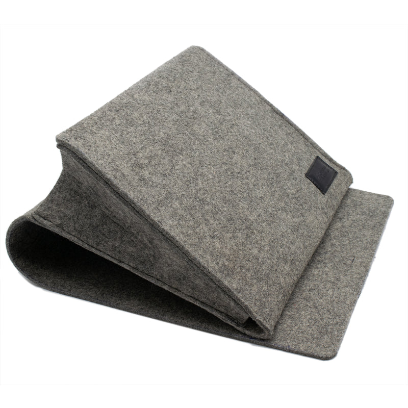 Luxury 4mm Felt Bedside Pocket Storage Organiser with Three Compartments