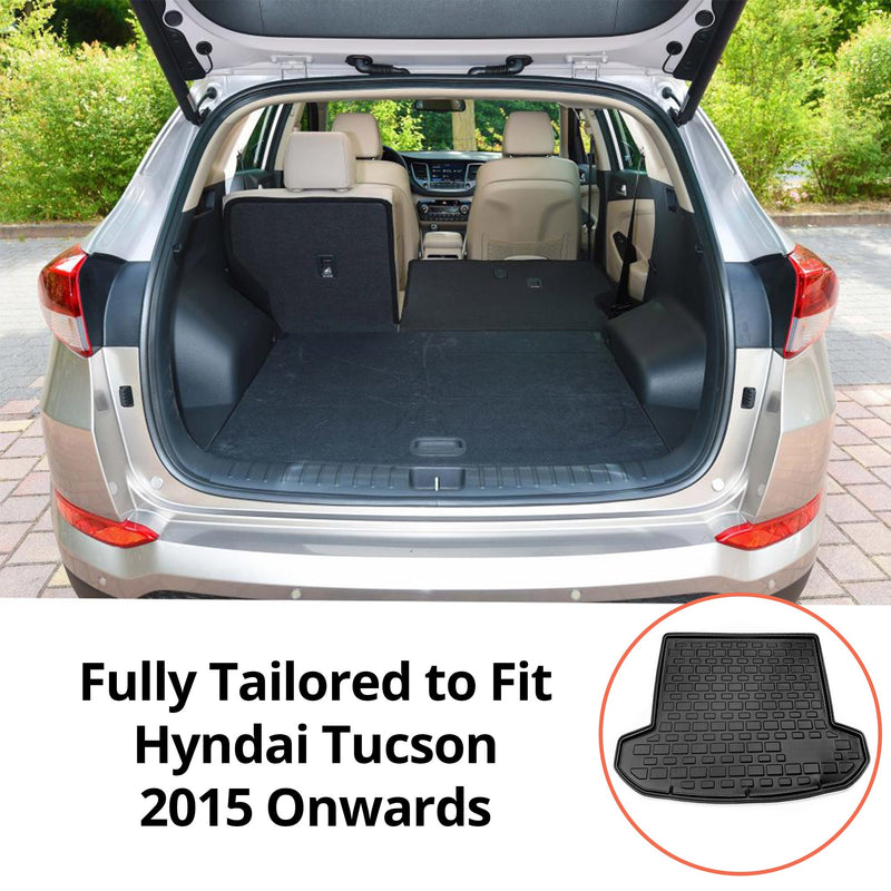 Hyundai Tucson Moulded Boot Liner 2015-Onwards