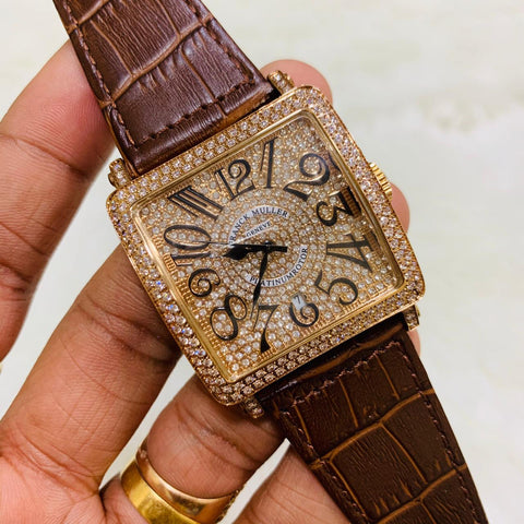 Franck Muller Diamond Royal Look