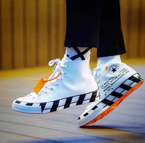 Converse All Star Long Off White