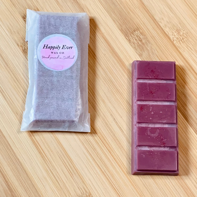 Wax Melt Highly scented Snap Bars Black Cherry