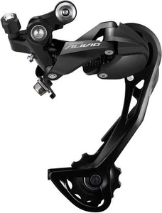 Alivio M3100 rear derailleur, 9-speed, Shadow design, SGS long cage