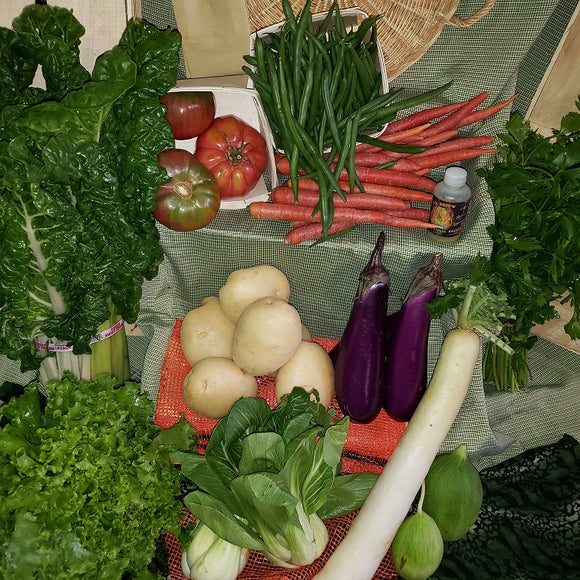 Fresh Produce Box - Large with Eggs