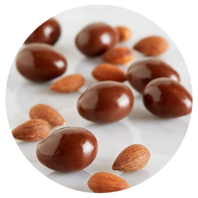 Worlds Finest Chocolate - Continental Almonds - 55g