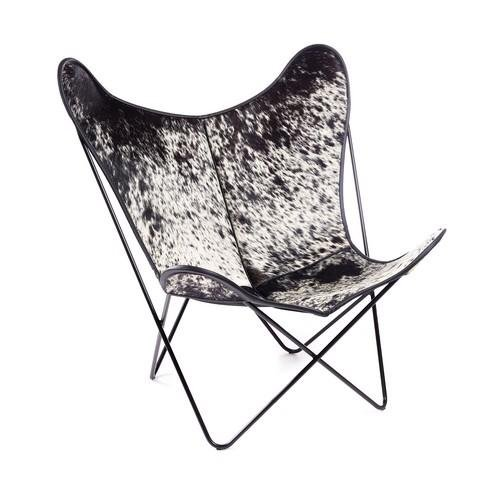 HARDOY BUTTERFLY CHAIR MIT KUHFELL - Manufakturplus GmbH
