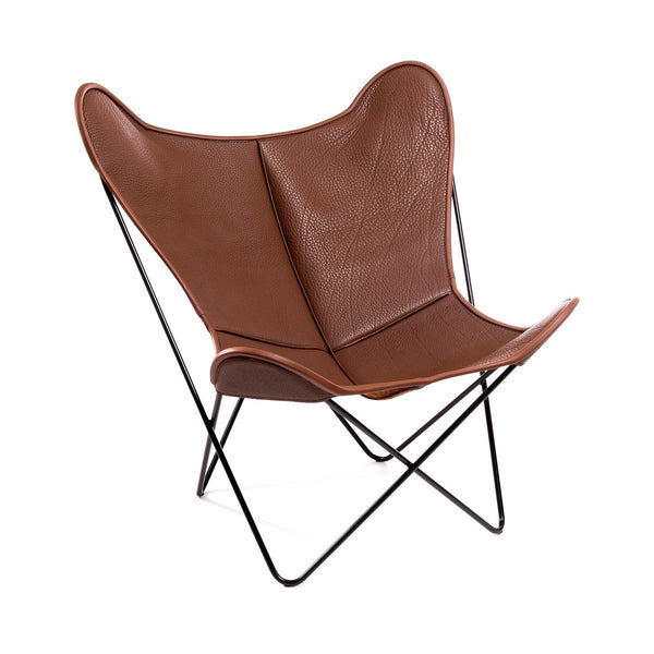 HARDOY BUTTERFLY CHAIR MIT NECK-LEDER - Manufakturplus GmbH