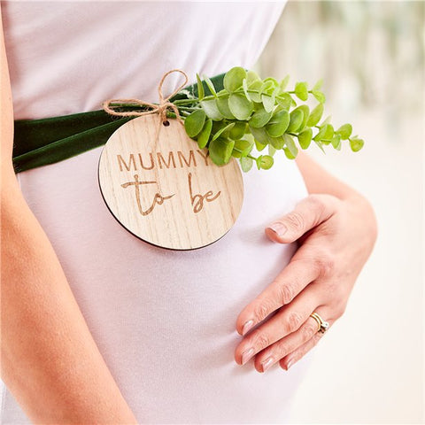 Mummy to be sash for baby shower