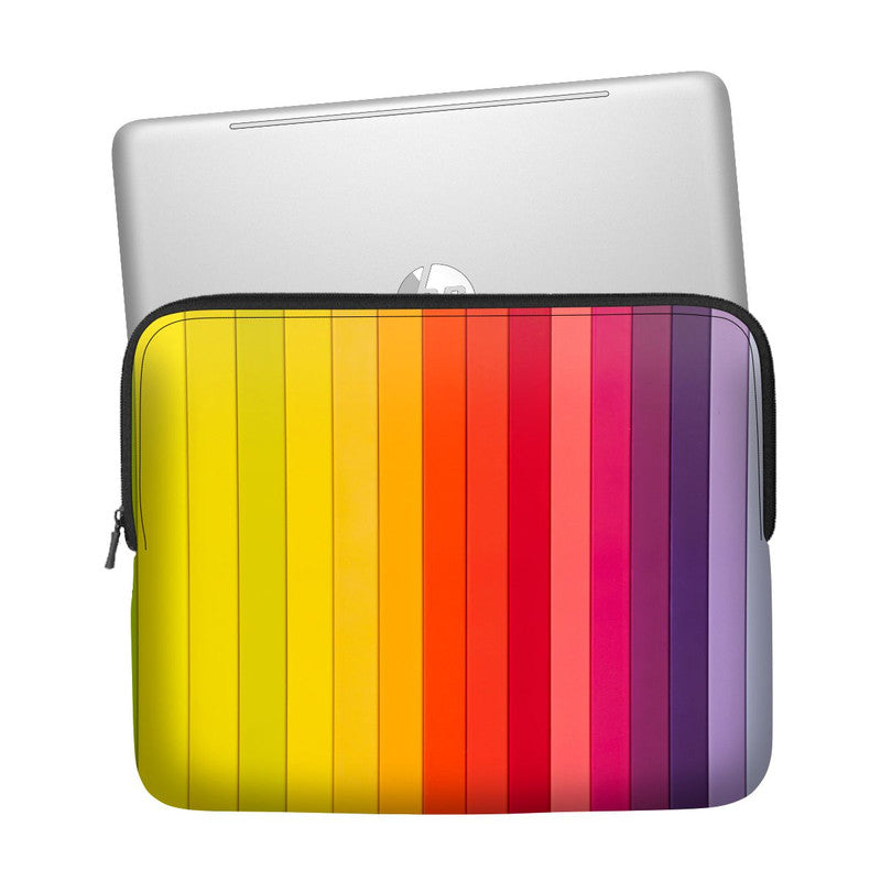 Coloured Stripes Laptop Sleeve