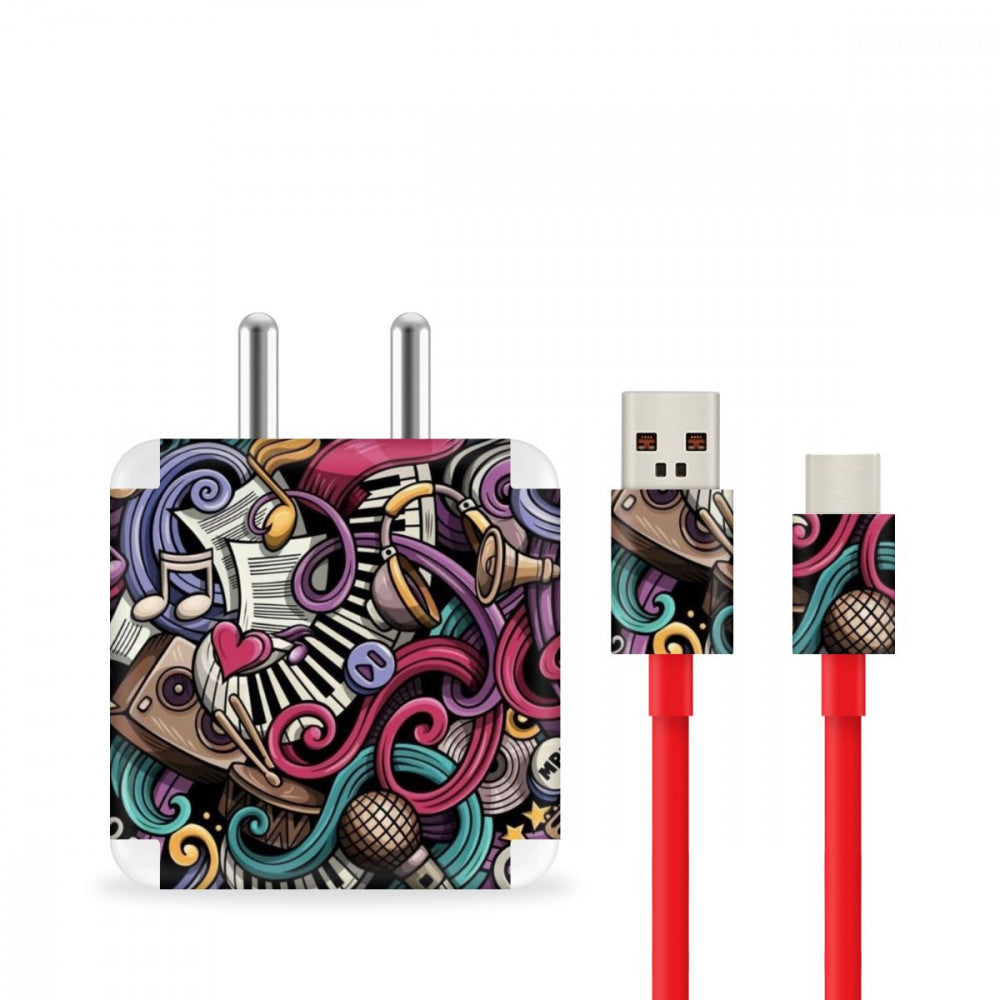 Music Abstract Charger