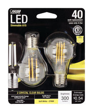 Load image into Gallery viewer, FEIT Electric  Performance  A15  E17 (Intermediate)  LED Bulb  Soft